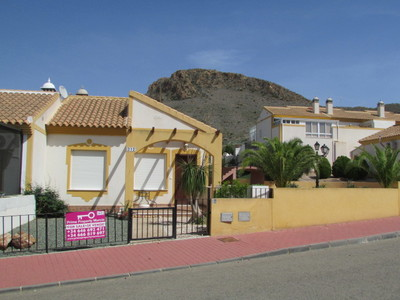 Ref:1411 Semi Detached Villa For Sale in Mazarron Country Club