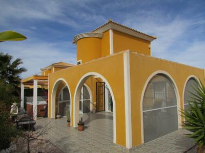 1372: Detached Villa in Mazarron Country Club