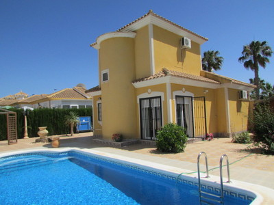 1404: Detached Villa in Mazarron Country Club