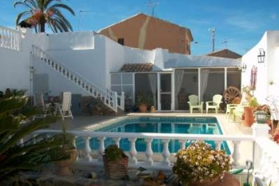 Ref:GR191 Semi Detached Villa For Sale in Mazarron
