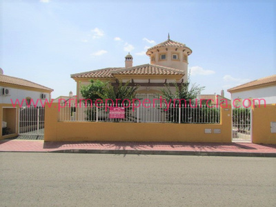 1653: Detached Villa in Mazarron Country Club