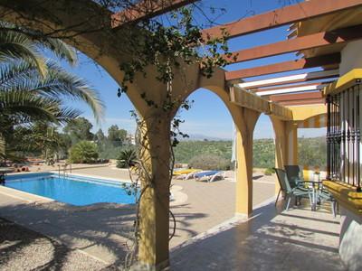 1378: Detached Villa in Mazarron Country Club