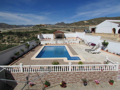 Ref:1384 Country House For Sale in Mazarron