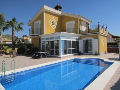 Ref:1387 Detached Villa For Sale in Mazarron Country Club