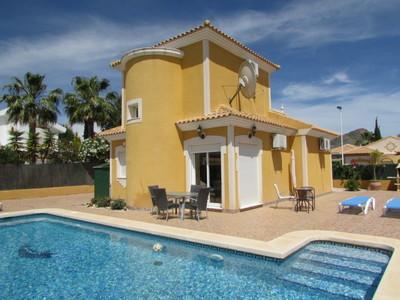 Ref:1399 Detached Villa For Sale in Mazarron Country Club