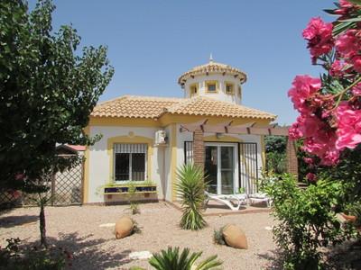 1420: Detached Villa in Mazarron Country Club
