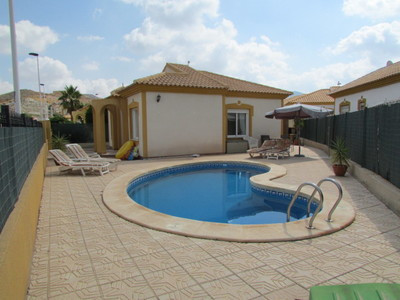 Ref:1423 Detached Villa For Sale in Mazarron Country Club