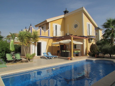 1428: Detached Villa in Mazarron Country Club