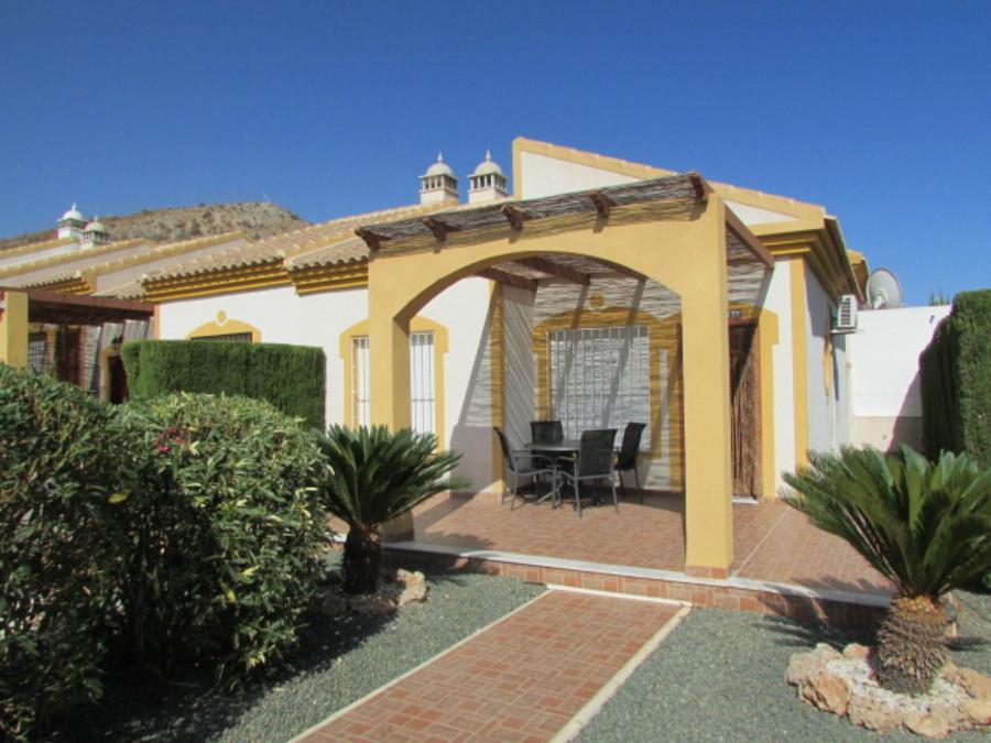 1436: Semi Detached Villa for sale in Mazarron Country Club