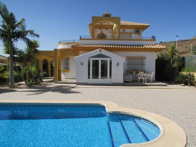 Ref:1434 Detached Villa For Sale in Mazarron Country Club