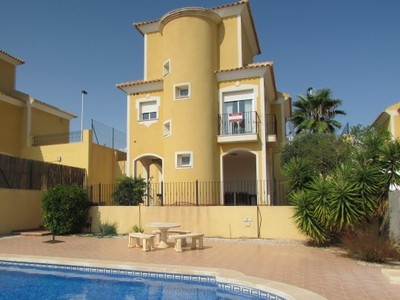 1443: Detached Villa in Mazarron Country Club