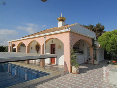 1446: Detached Villa in Mazarron Country Club