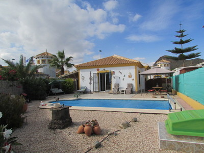 1455: Detached Villa in Mazarron Country Club