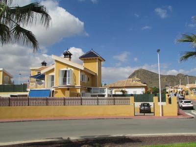 Ref:1454 Detached Villa For Sale in Mazarron Country Club