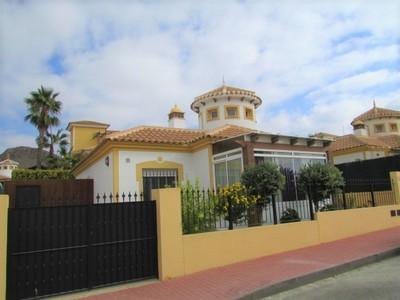 Ref:1464 Detached Villa For Sale in Mazarron Country Club