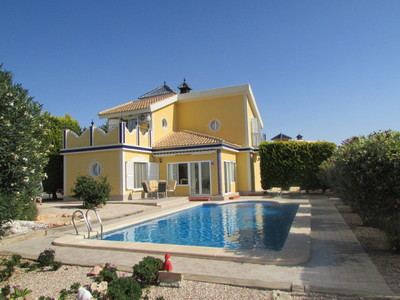 Ref:1469 Detached Villa For Sale in Mazarron Country Club