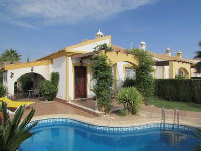 Ref:1470 Semi Detached Villa For Sale in Mazarron Country Club