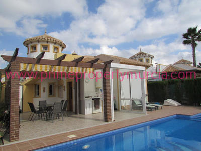 Ref:1475 Detached Villa For Sale in Mazarron Country Club