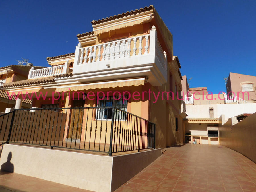 1551: Semi Detached Villa for sale in Puerto de Mazarron