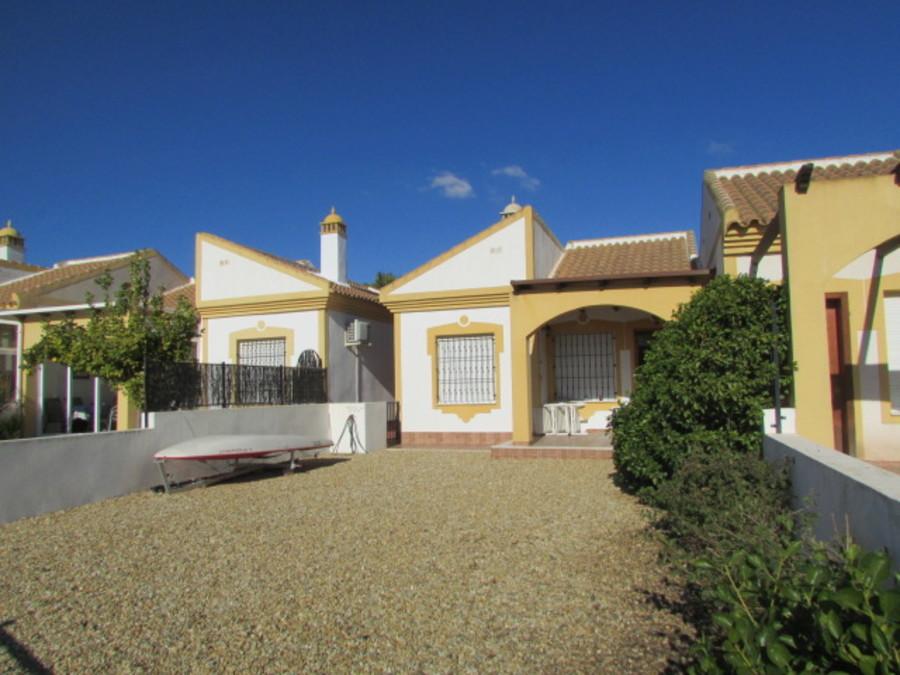 1487: Semi Detached Villa for sale in Mazarron Country Club