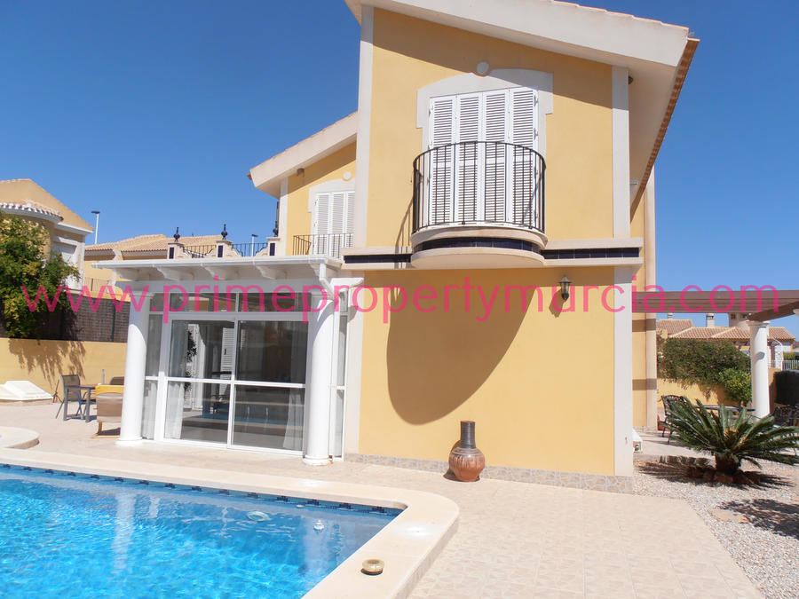 1489: Detached Villa for sale in Mazarron Country Club