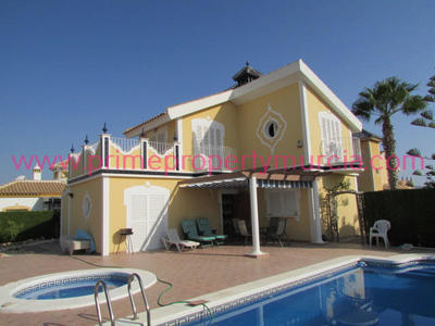 1431: Detached Villa in Mazarron Country Club