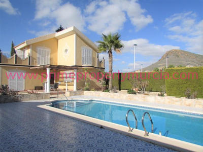 1362: Detached Villa in Mazarron Country Club