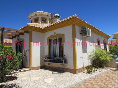 1416: Detached Villa in Mazarron Country Club