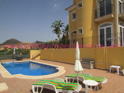 1425: Detached Villa in Mazarron Country Club