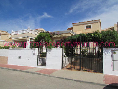 1302: Semi Detached Villa in Puerto de Mazarron