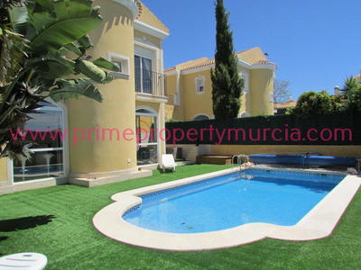 1382: Detached Villa in Mazarron Country Club