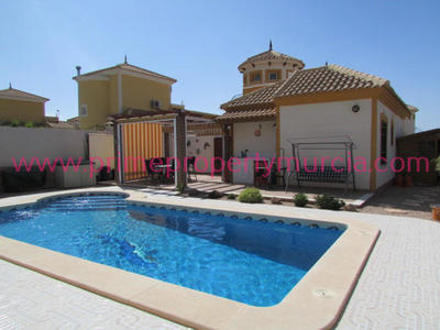 1330: Detached Villa in Mazarron Country Club