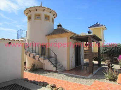 1618: Detached Villa in Mazarron Country Club