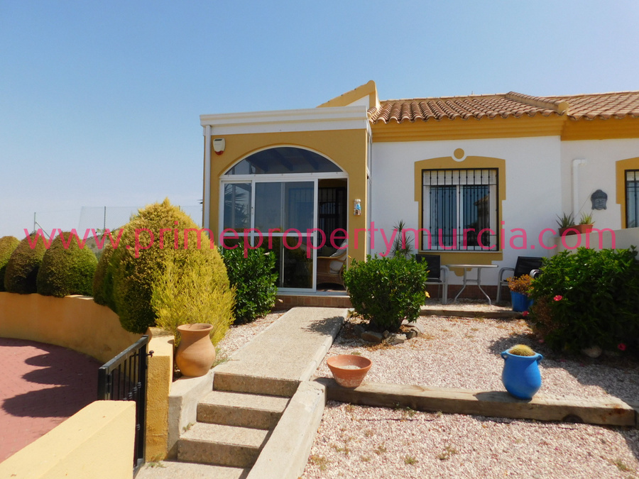 1730: Semi Detached Villa for sale in Mazarron Country Club