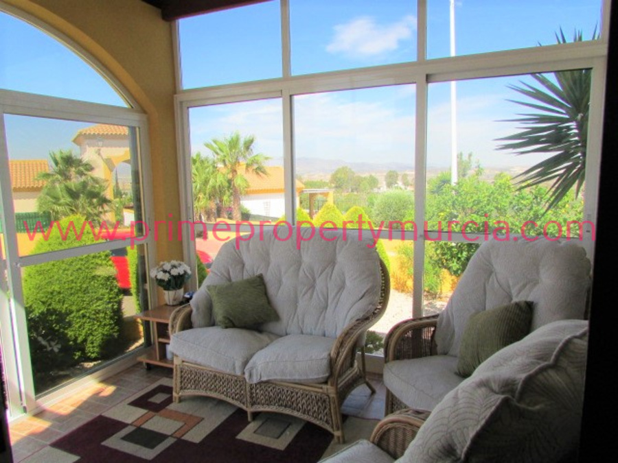 1633: Semi Detached Villa for sale in Mazarron Country Club