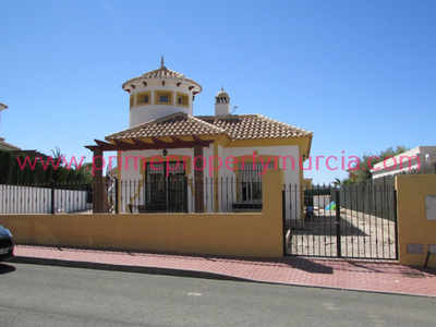 1634: Detached Villa in Mazarron Country Club