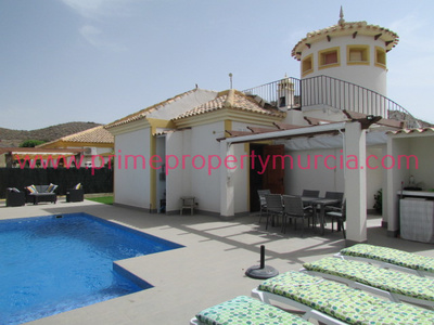 Ref:1641 Detached Villa For Sale in Mazarron Country Club