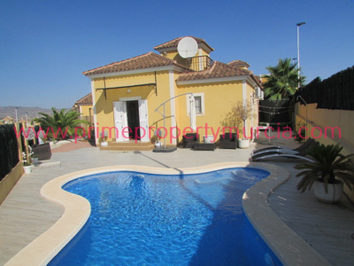 1648: Detached Villa in Mazarron Country Club