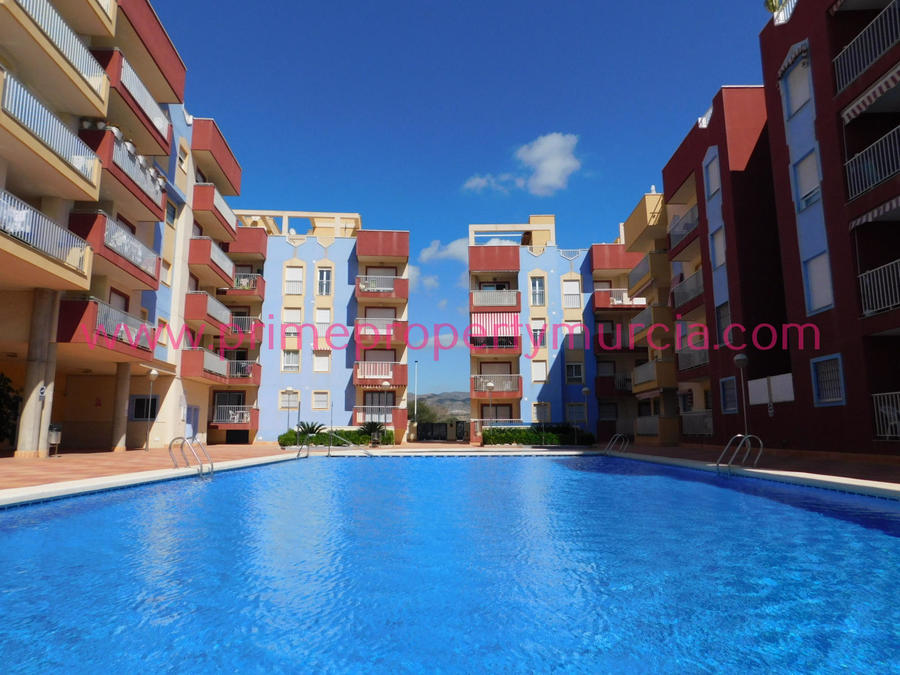 Apartment For Sale in Puerto de Mazarron, Murcia with pool  PPM-1666