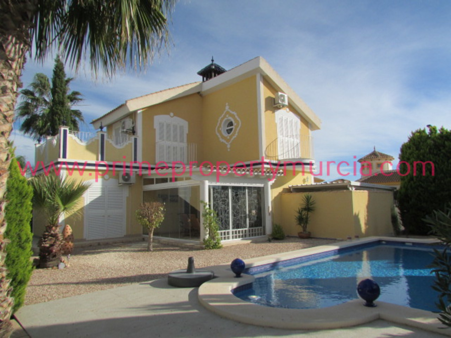 Detached Villa For Sale in Mazarron Country Club, Murcia with pool  PPM-1667