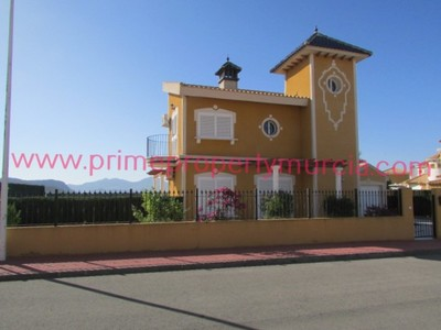 1668: Detached Villa in Mazarron Country Club