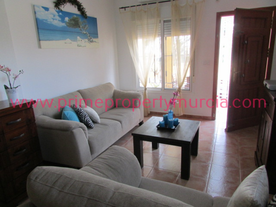 2 Bedroom Mazarron Country Club Semi Detached Villa