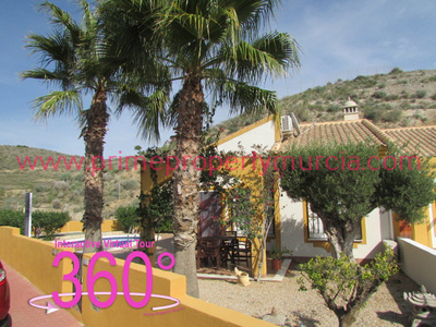 Ref:1812 Semi Detached Villa For Sale in Mazarron Country Club