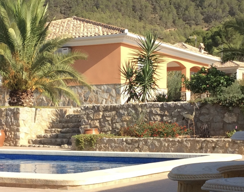 Country House For Sale in Pliego, Murcia with pool  PPM-1674