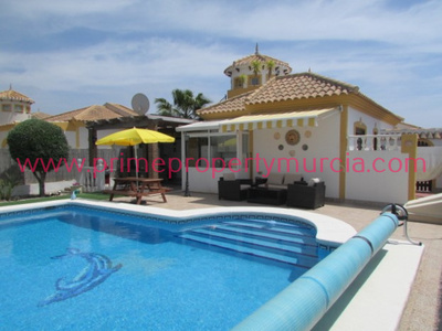 1709: Detached Villa in Mazarron Country Club