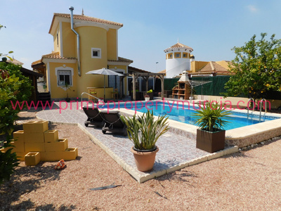Ref:1714 Detached Villa For Sale in Mazarron Country Club