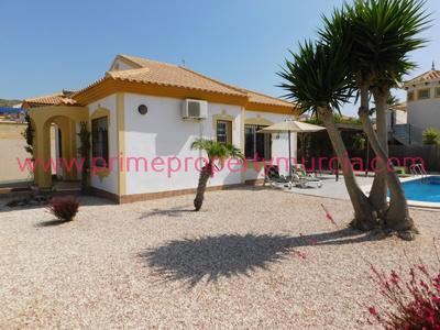 Ref:1720 Detached Villa For Sale in Mazarron Country Club