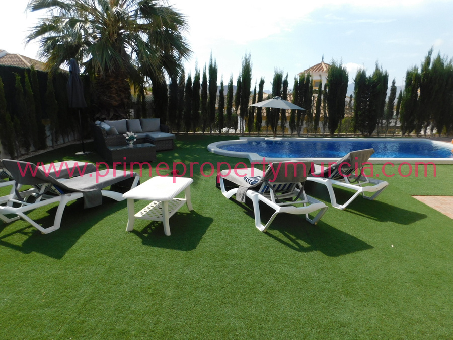 Mazarron Country Club Detached Villa For sale 225000 €