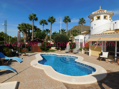 1747: Detached Villa in Mazarron Country Club