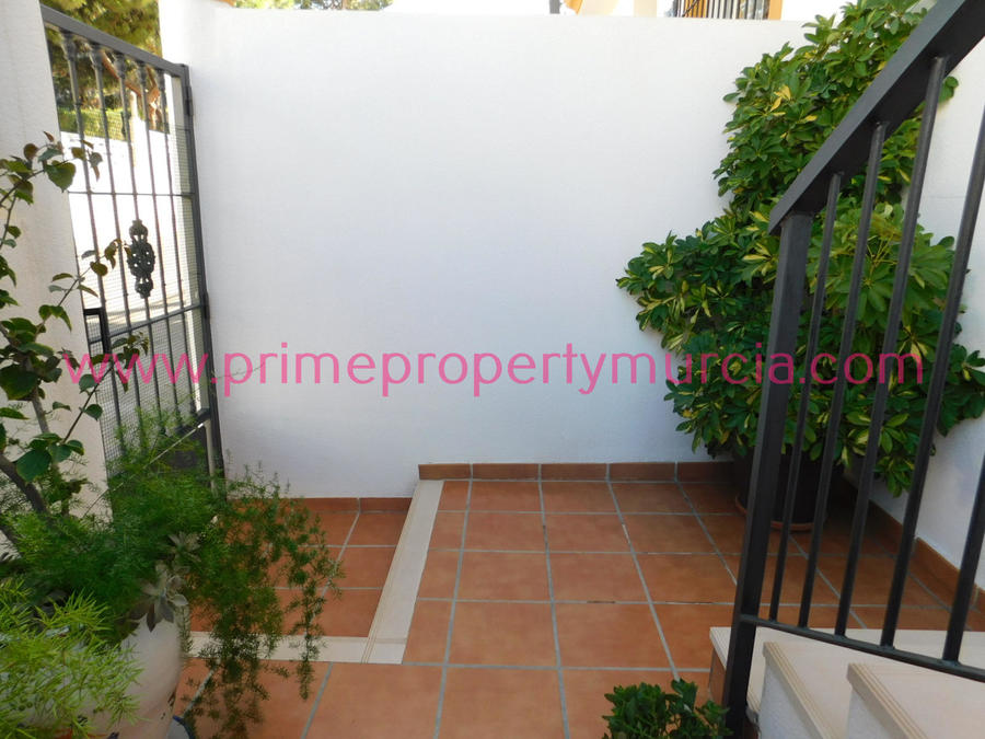 1749: Duplex for sale in Puerto de Mazarron